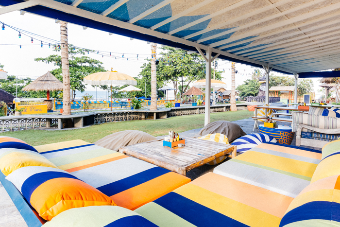 Enjoy a beer in paradise at this Canggu institution.