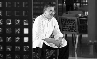 Sebastien Cassagnol, the French chef behind The Chedi Muscat's kitchen in Oman.