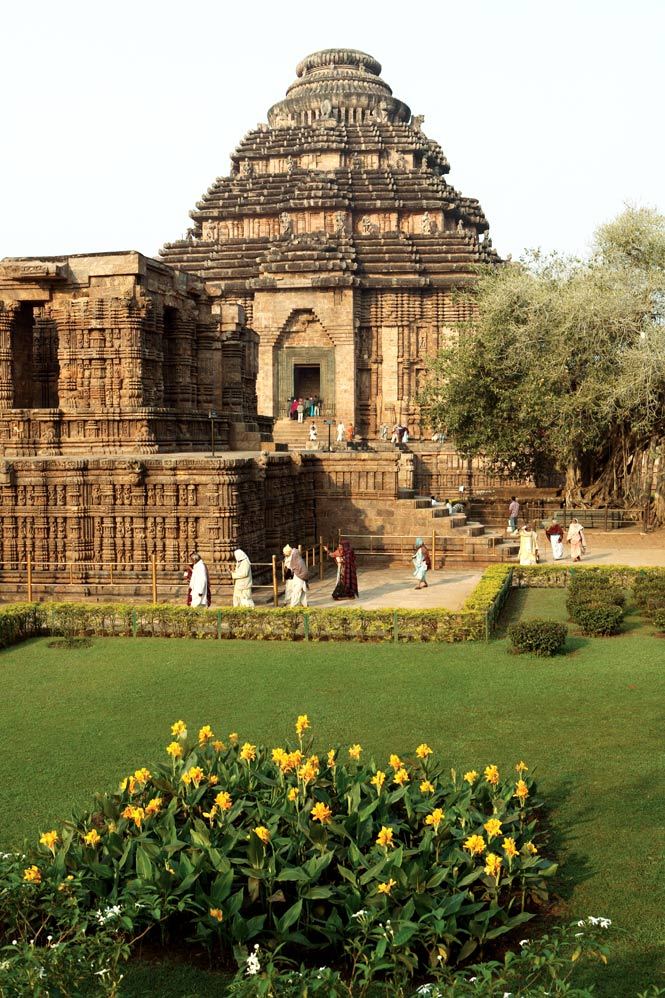 Konark's 13th-century Sun Temple.