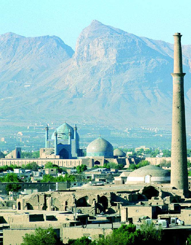 Overlooking Esfahan.