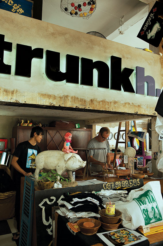 Trunkh. is a treasure trove of repurposed and recycled items.