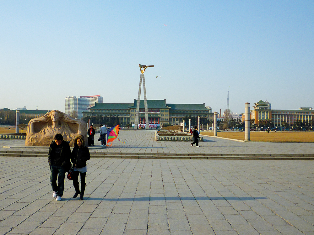 Changchun's expansive Culture Square is dominated by the Geological  Palae Museum, built on the foundations of what was to be Puyi's grand palace.