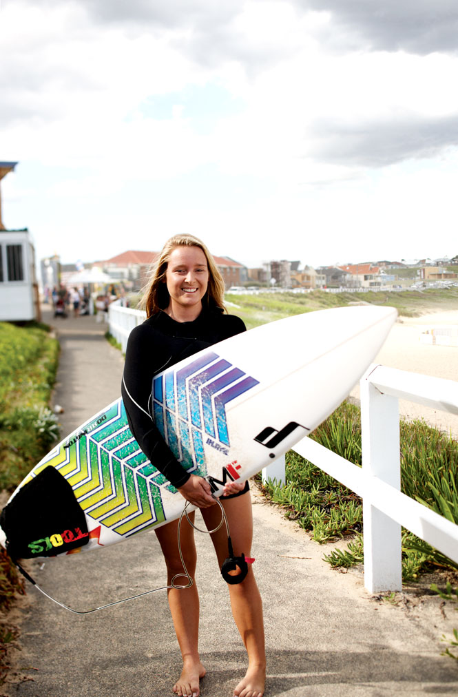 A relaxed surf culture is part of Newcastle's appeal.