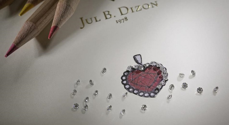 The Ruby Revelry room package comes with a one-of-a-kind ruby pendant designed by Jul B. Dizon Jewelry for the hotel.