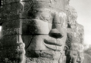 Smiling Faces of Bodhisattvas at the Bayon