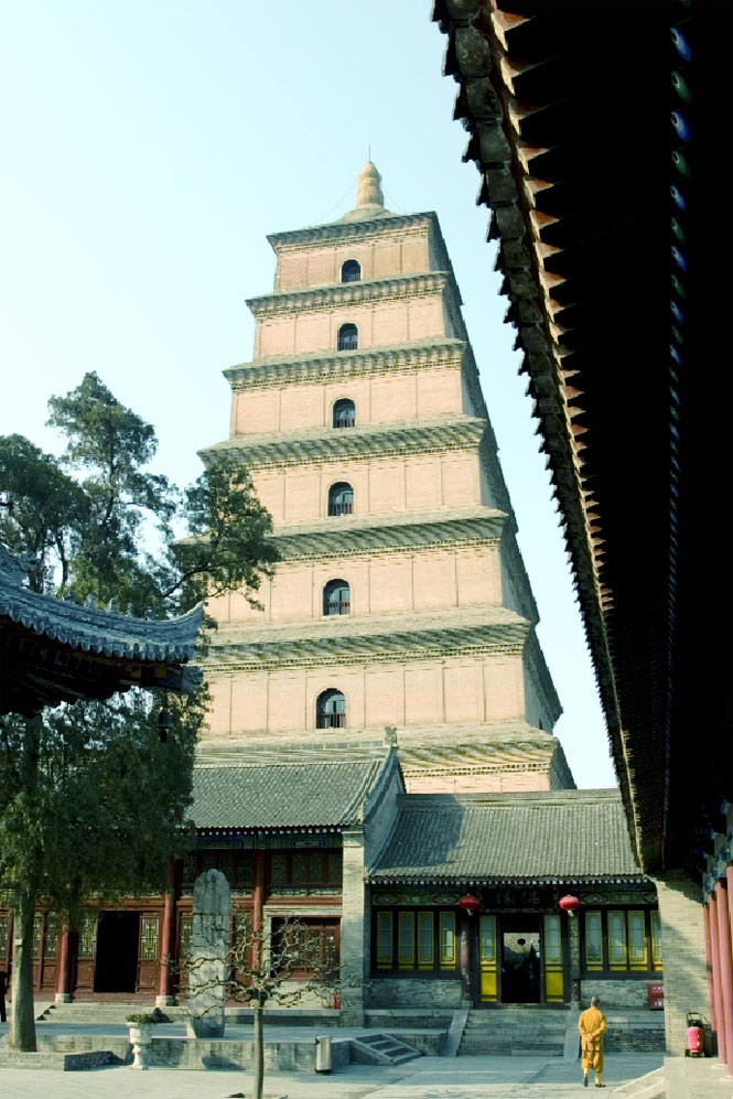 The Big Wild Goose Pagoda.