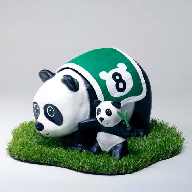 Special pandas will be created for the visit to Hong Kong.
