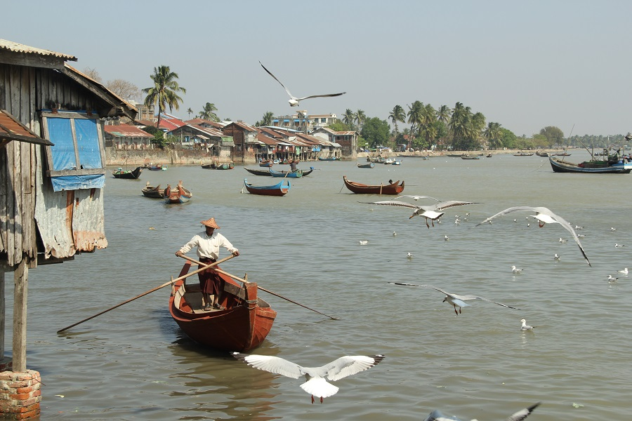 The journey begins and ends in Sittwe, the capital of the Rakhine state.