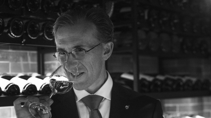 Paolo Basso was voted world's best sommelier in 2013.