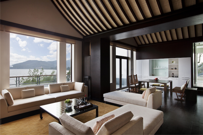 An executive suite.