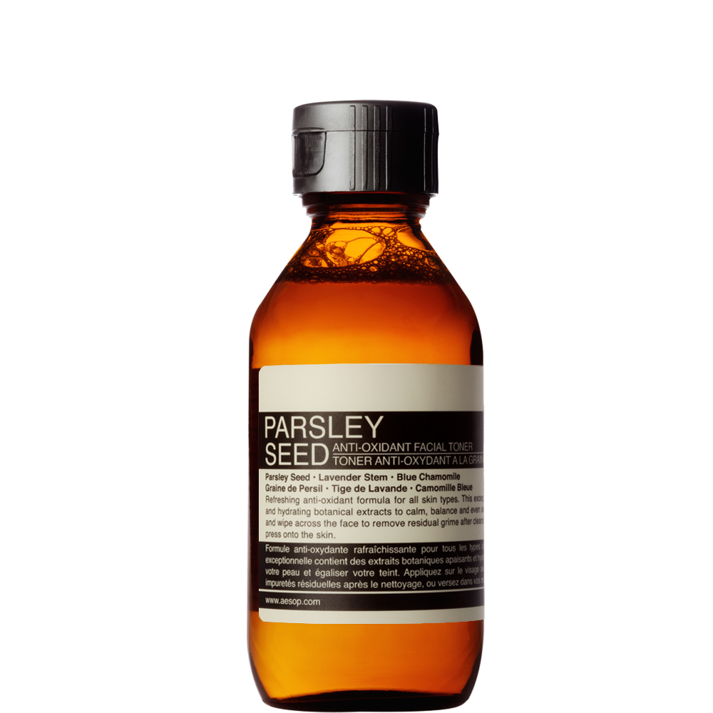 The London kit includes items from the brand's parsley-seed range.