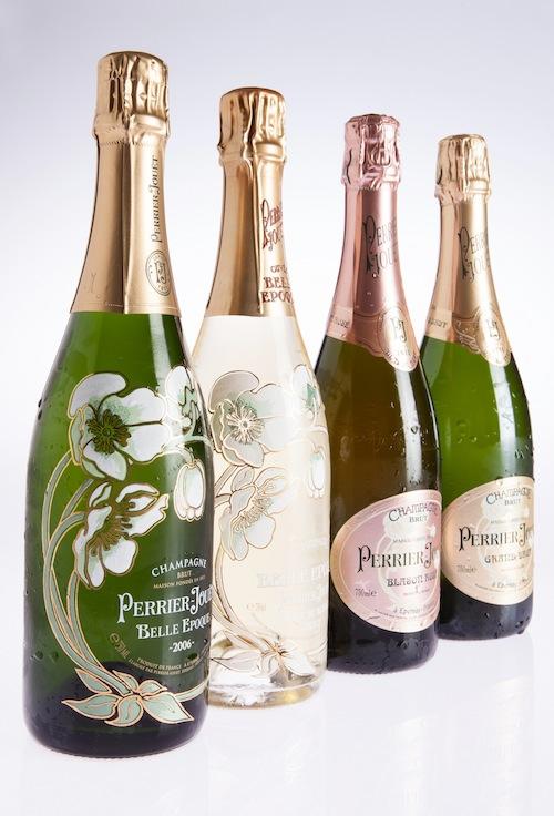 Perrier-Jouët floral champagne.
