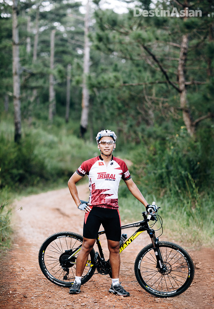 Phat Tire mountain-bike guide Minh.