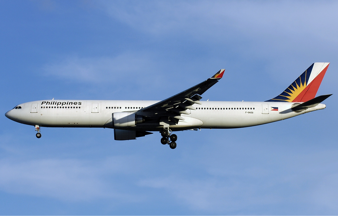 PAL's five weekly flights between the two hubs are serviced by its new Airbus A330-300 aircraft.
