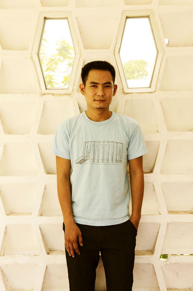 Architect Yam Sokly.