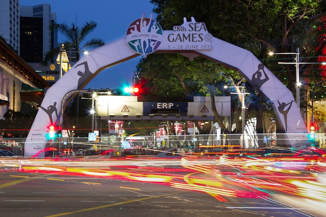 The Games are held in conjunction with Singapore's 50th anniversary.