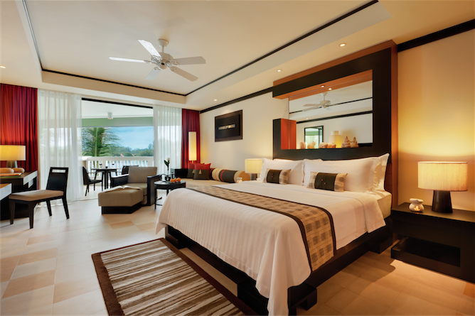 A guest room at Angsana Phuket.