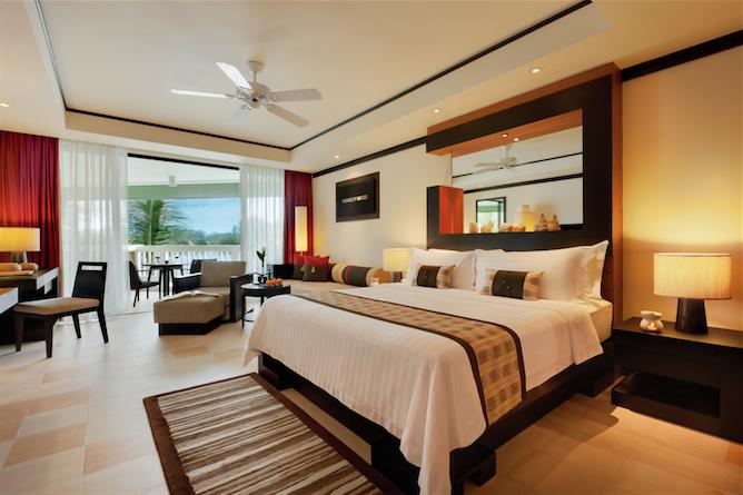 A guest room at Angsana Phuket.