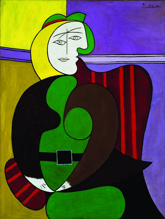Picasso's The Red Armchair.