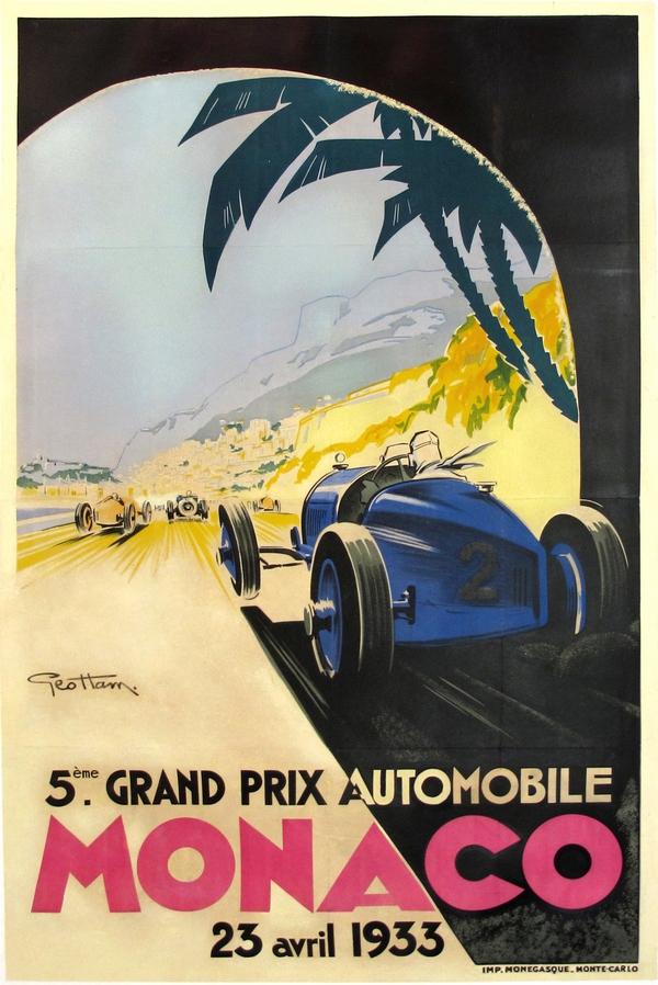 An ad for the Monaco Grand Prix.