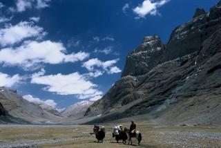 In northwest Tibet, pilgrims annually travel through vast, stunning valleys to the holy mountain.