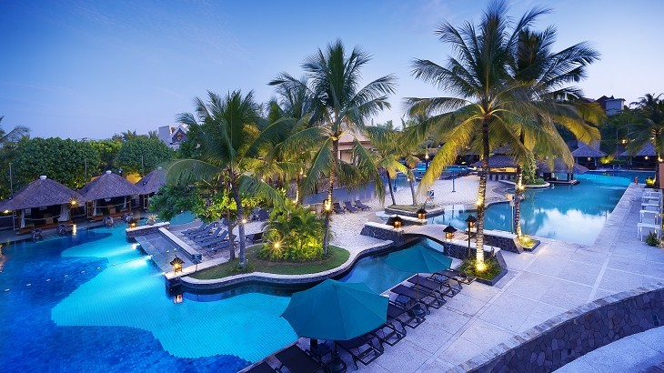 Hard Rock Hotel Bali's pool is a favorite for those traveling with family and friends.