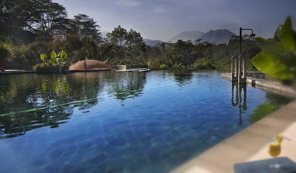 Losari's infinity pool will host aquafit programs.