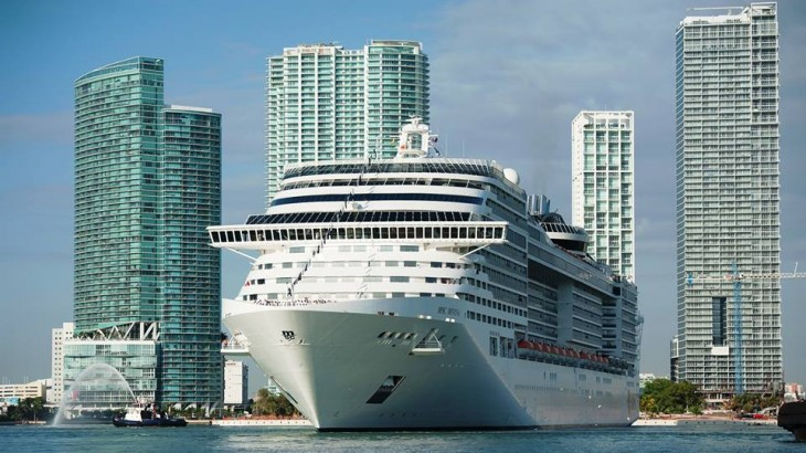 The port's line-up includes Carnival, Costa, and Royal Caribbean.