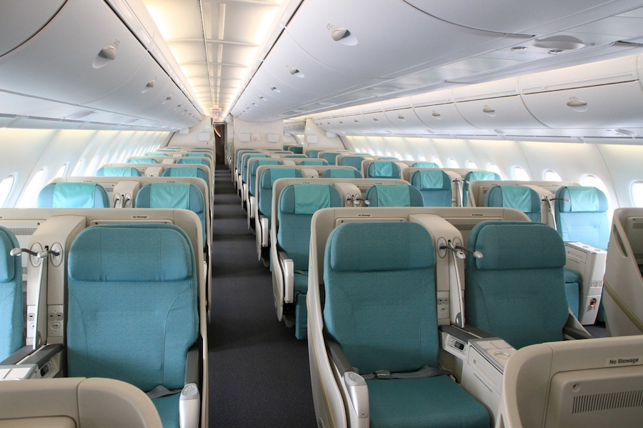 A total of 90 lie-flat sleeper seats are available in business class.