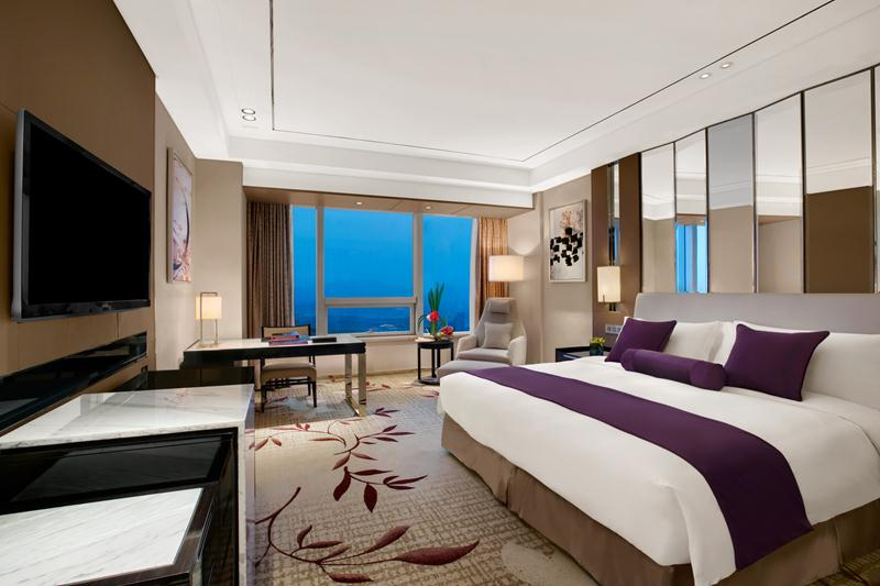 The rooms at the Kempinski Hotel Yixing range from 40 to 397 square meters.