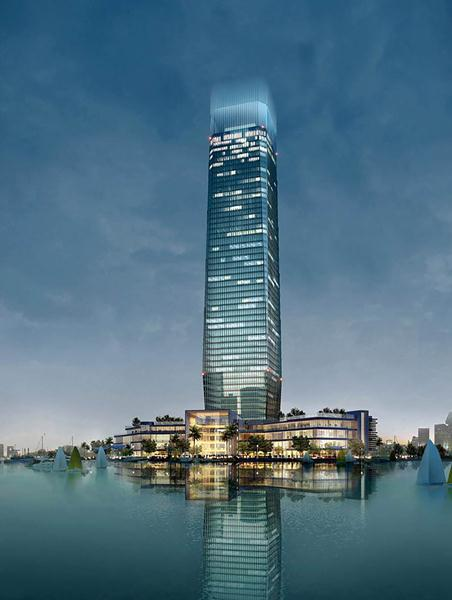 The Kempinski Hotel Yixing is located on the shores of Lake Tai.