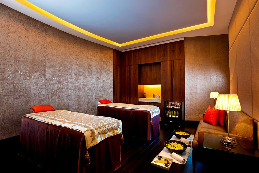 The Private Spa Suite is the biggest of the 12 treatment rooms.