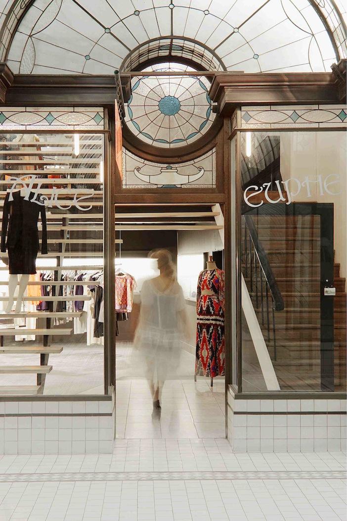 Alice Euphemia's storefront.