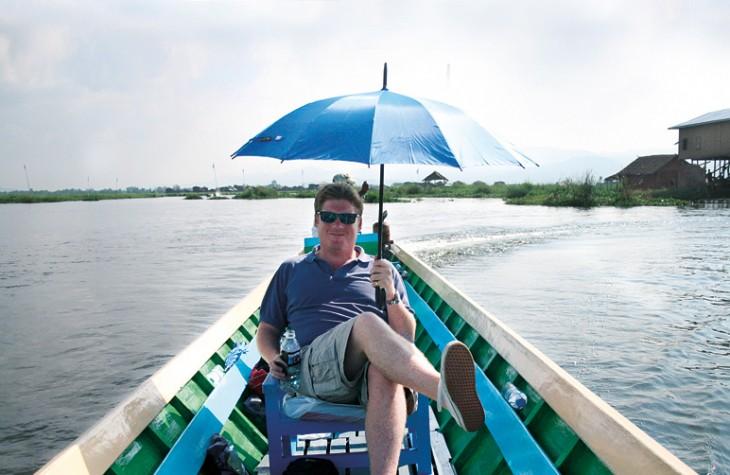 Simon Cameron, founder of bespoke tour operator, Lightfoot Travel.