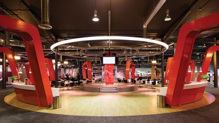 Qantas' Training Facility in Sydney