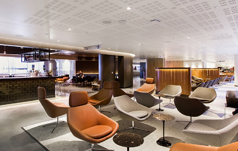 After the extension is completed, the lounge will accommodate up to 600 passengers.