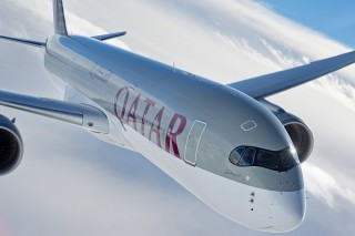 Qatar Airways's A350 aircraft.