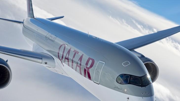 Qatar Airways's A350 aircraft.