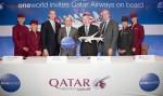 Qatar Airways' press conference in New York.