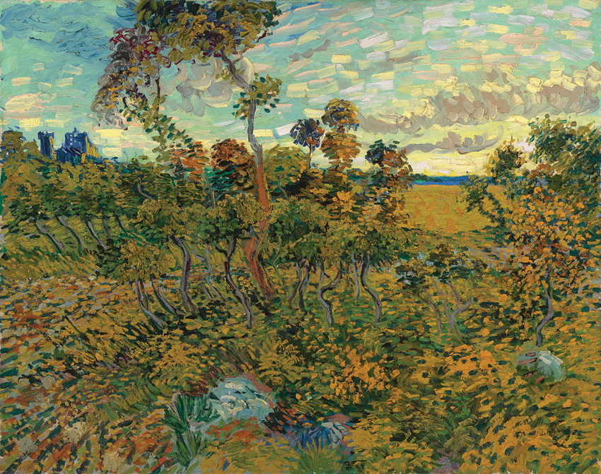Long thought to be a fake, Sunset at Montamjour was recently verified as a Van Gogh original.