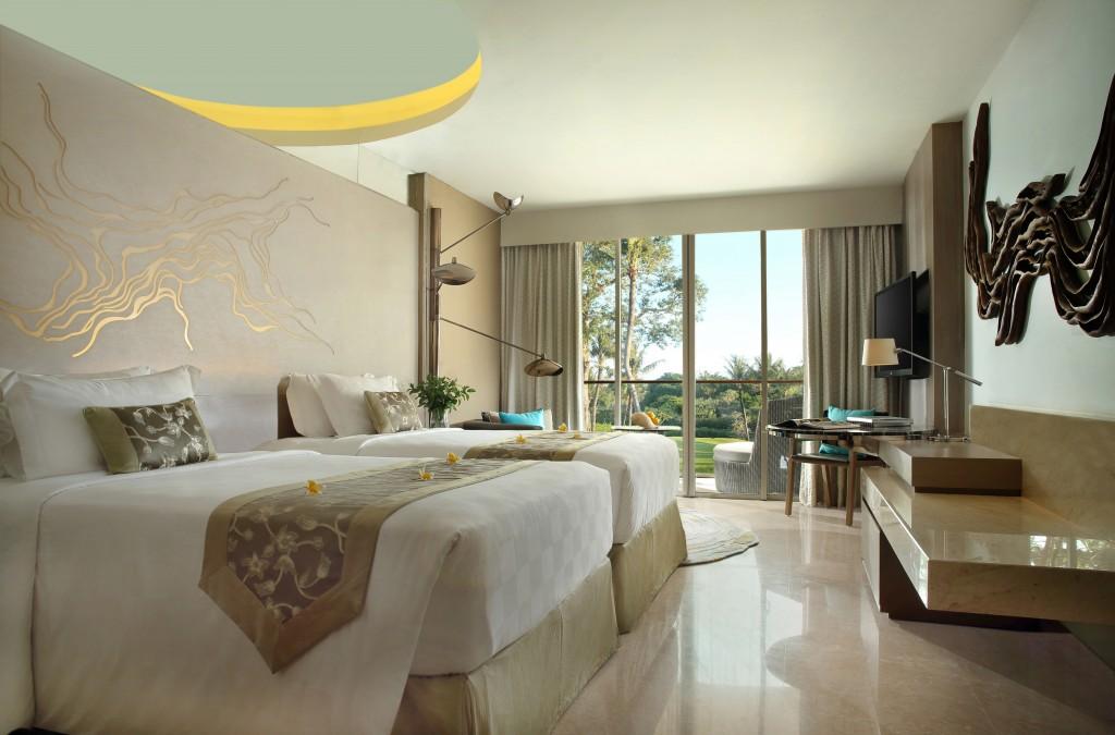 A suite at the new Rimba Jimbaran.