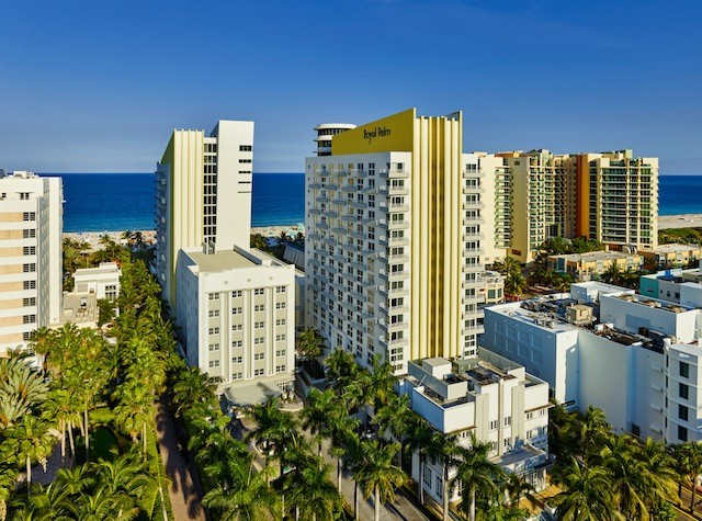 The Royal Palm South Beach Miami is just steps away from Miami's popular attractions.