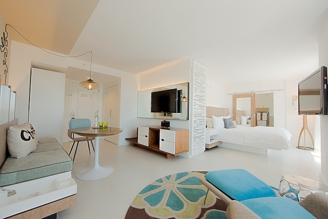 The Royal Palm South Beach Miami boasts 100 suites.