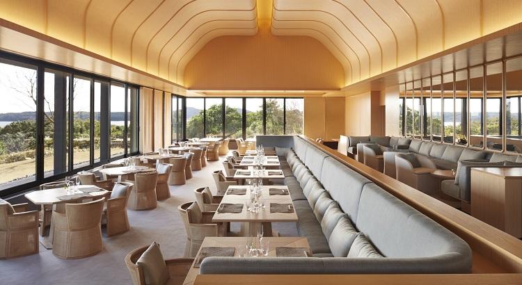 Amanemu's dining venue, The Restaurant.
