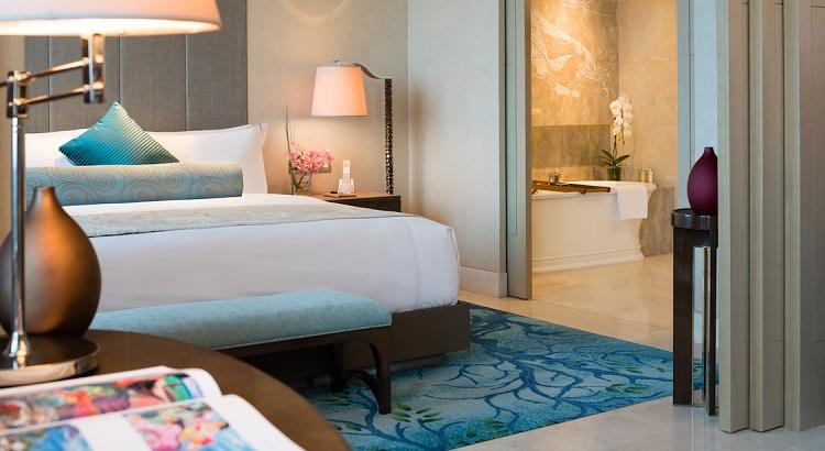 A suite at Raffles Jakarta.