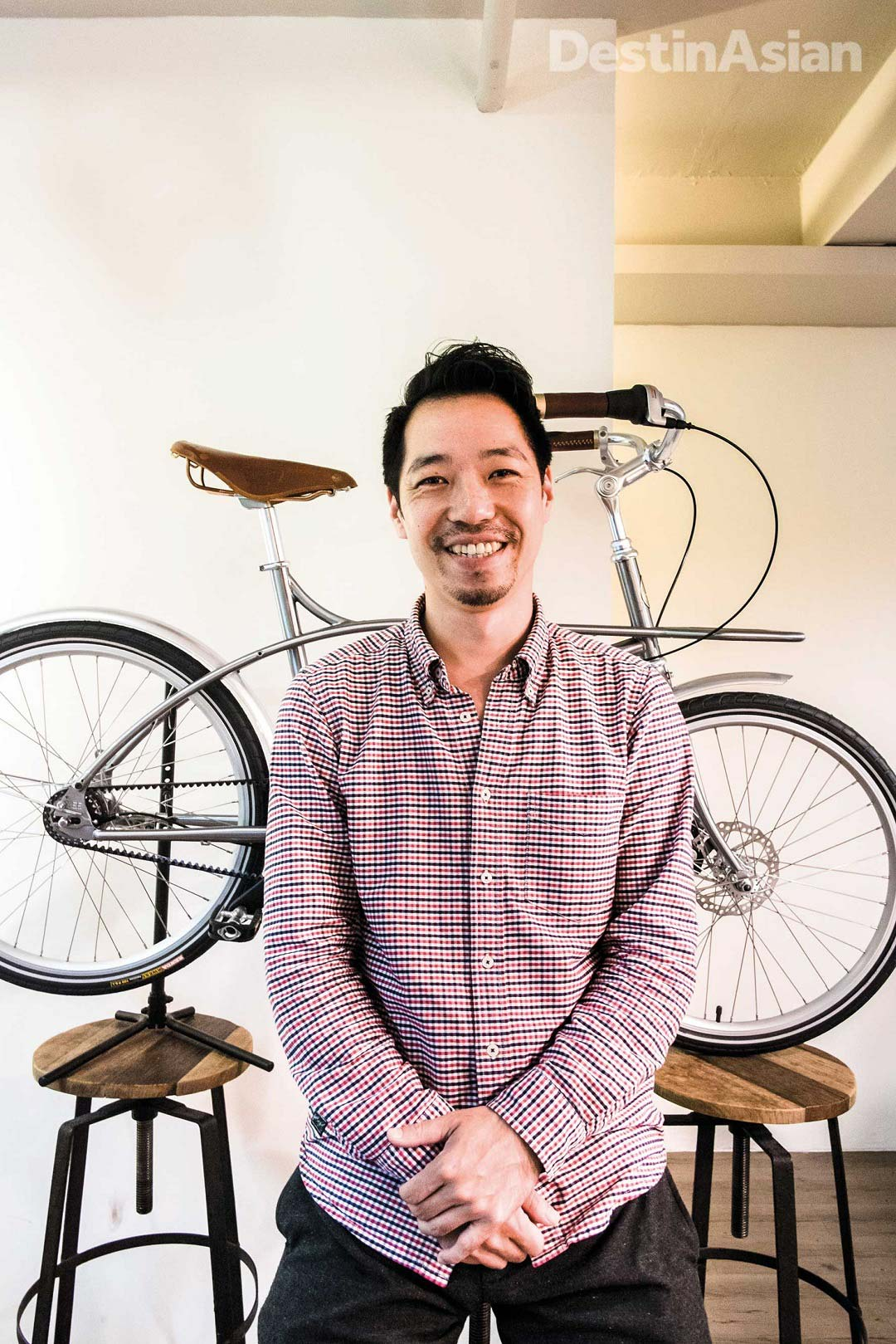 Alex Chou, founder of Gochic Bicycle.