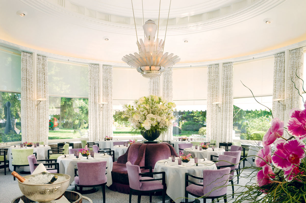 Baur au Lac will host The Dashing Cook and Rive Gauche Kitchenparty events.