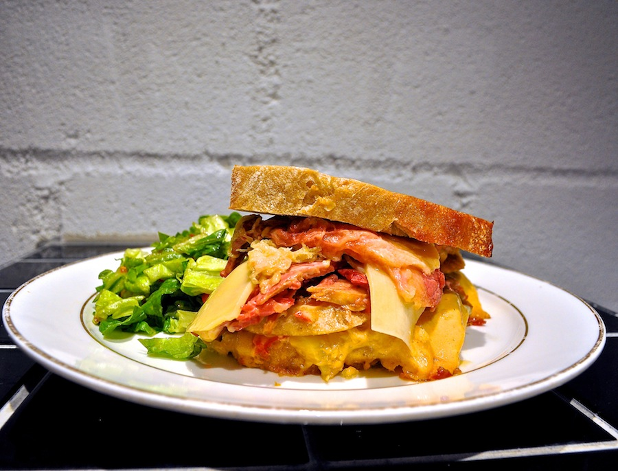 The Provision Shop's Ruben sandwich.