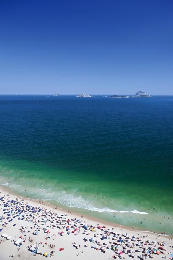 Rio's Ipanema Beach.