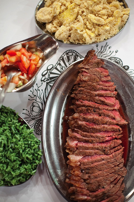 Flame-grilled picanha is one of Brazil's most beloved cuts of beef.